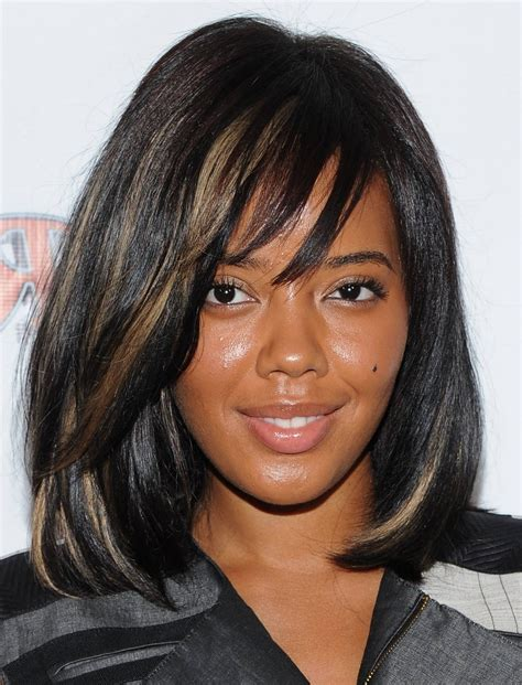 layered hairstyles with bangs for african americans that hairs thinning out black hairstyles with bangs and layers hairstyles