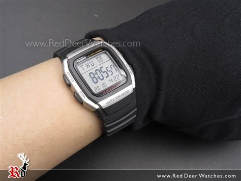 Casio W 96h Black less more casio s w 96h 1bvdf lower price what