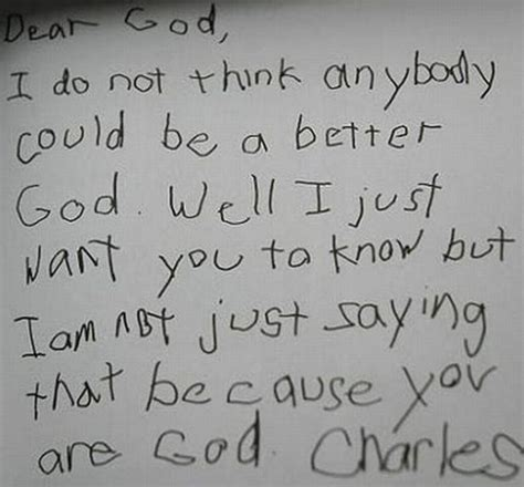 Response Letter To God Childlike Faith Food For The Spiritual Soul S