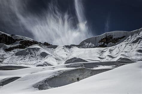 Selmpang Mont Blanc 8163 2 andrzej bargiel z nartami na k2 w 蝗niegu i po 蝗niegu