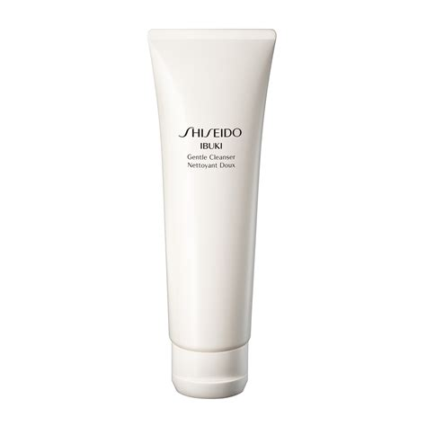 shiseido ibuki gentle cleanser 125ml feelunique