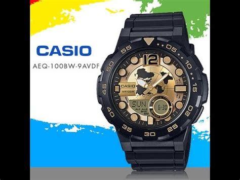 Casio Original Aeq 100bw 9avdf casio aeq 100bw 9a viyoutube