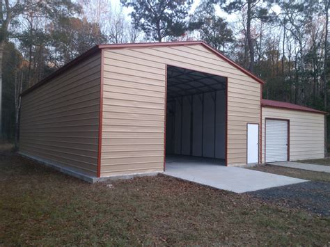 Carport An Garage 3910 by Steel Garages Metal Garages Alabama Al