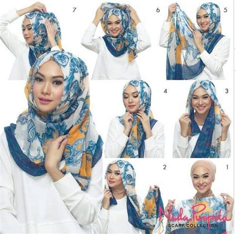 tutorial hijab indah nada puspita 548 best images about hijab hajoob and more on pinterest