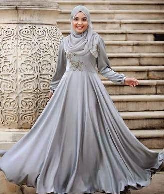 Kalung Pesta Mewah Dan Elegan B 25 desain gaun pesta muslim mewah dan elegan terbaru 2018 keren