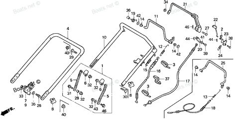 honda lawn mower parts diagram diagram of honda lawn mower parts hr215 hxa lawn mower