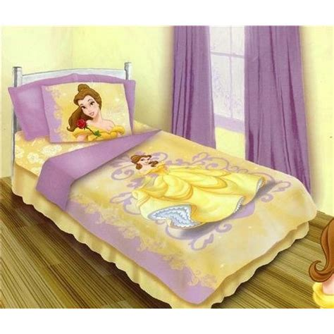 beauty and the beast bedroom amazon com princess beauty and the beast belle 4 piece