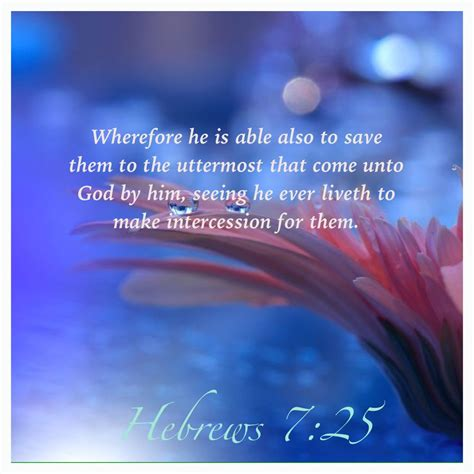 He Is Able To Save To The Uttermost by Consequently He Is Able To Save To The Uttermost Those