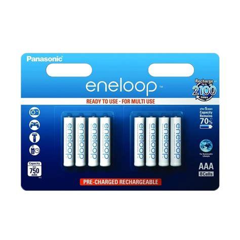 Sanyo Eneloop Rechargeable Aaa Ni Mh Batteries 750mah 8 Pack New Sanyo Panasonic Eneloop Aaa Hr03 Nimh Rechargeable Batteries 800mah Ebay