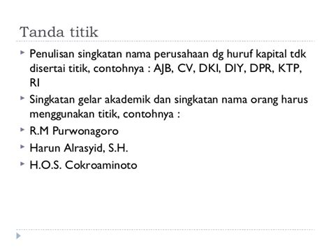 penulisan daftar pustaka beserta gelar 9 penulisan dengan ejaan bahasa indonesia yang disempurnakan