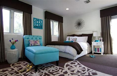 turquoise and brown bedroom decorating with turquoise colors of nature aqua exoticness