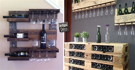 Idee Palette Meuble by Meubles En Palette De Bois Pour Ranger Votre Vin 18 Id 233 Es