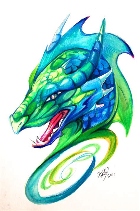 dragon head design by lucky978 on deviantart