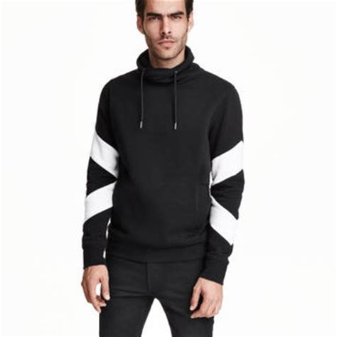 Chimney Neck Hoodie Mens - h m chimney collar sweatshirt 34 99 from h m