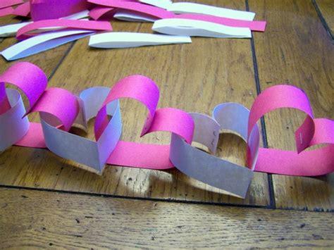 como hacer manualidades de san valentin manualidades cadenetas corazones decorando en san valent 237 n