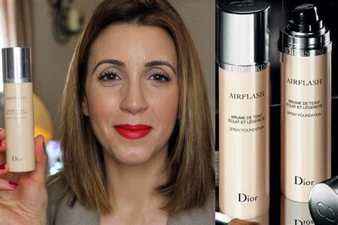 Diorskin Airflash by Airflash Foundation Review Demo