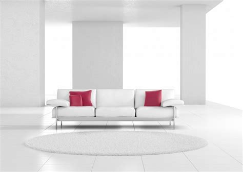 Living Room And Dining Room by Interior Design Concept White Couch Download 3d House