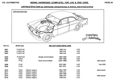 volvo p1800s wiring diagram ideas electrical and
