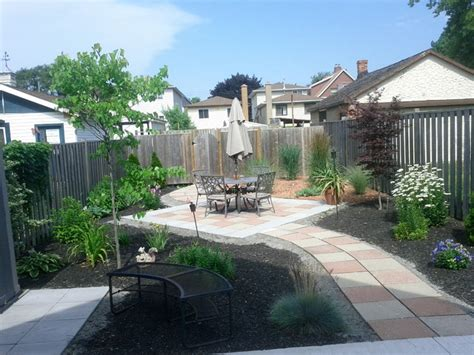 backyard makeovers before and after hamilton backyard makeover before and after