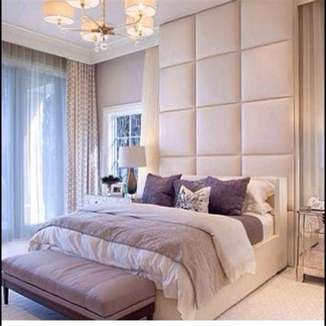 Neutrals Floor To Ceiling Headboard Interior Design