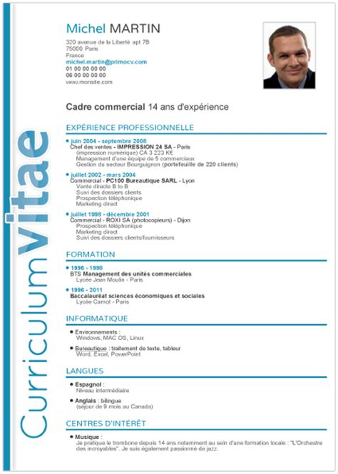 Curriculum Vitae Definition Fr Cv Exemples On Resume Templates Resume And Curriculum