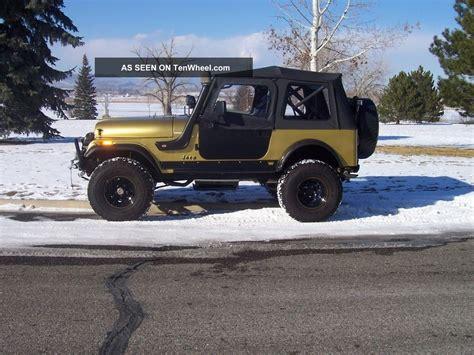 Jeep Cj Mods 1984 Jeep Cj7 Resto Mod 100 000 Spent