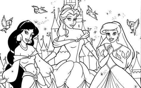 Disney Princesses Colouring Pages 1000 Images About Coloring Pages On Pinterest Disney by Disney Princesses Colouring Pages