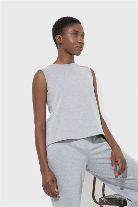 Gray Roza Top clothing rosa grey top another garde