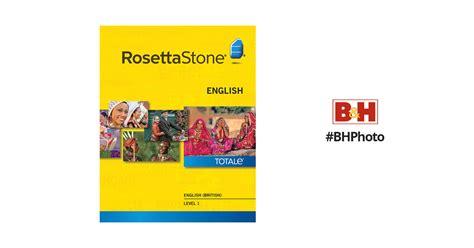 rosetta stone british english rosetta stone english british level 1 27769mac b h photo