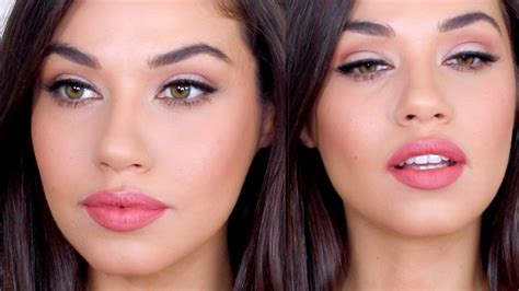 easy natural everyday makeup tutorial chit chat grwm