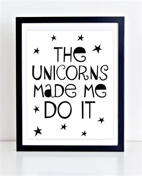 printable unicorn quotes unicorn printable playroom decor typography print the