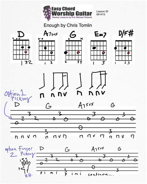 strumming pattern with you chris brown enough by chris tomlin id 061415 easy chord worship guitar