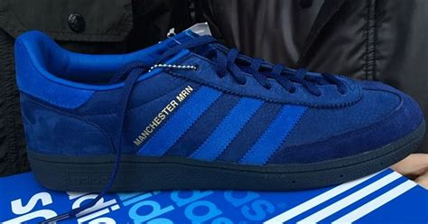 adidas manchester adidas manchester marine trainers appear on ebay for