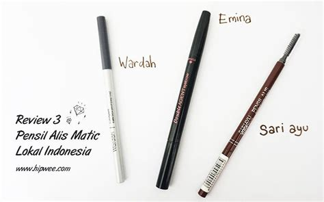 Harga Sariayu Eyebrow Pencil membahas seberapa cetar 3 pensil alis matic lokal harga 50