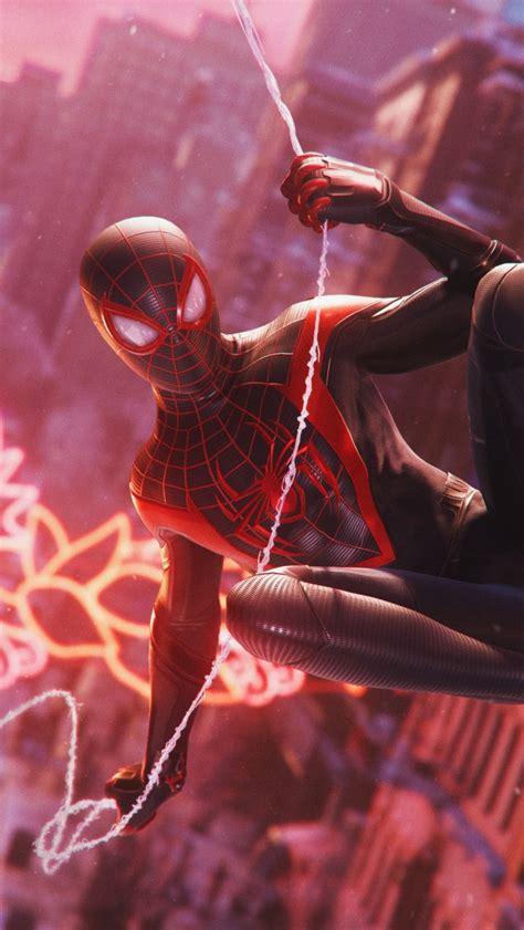 spider man miles morales  wallpaper playstation