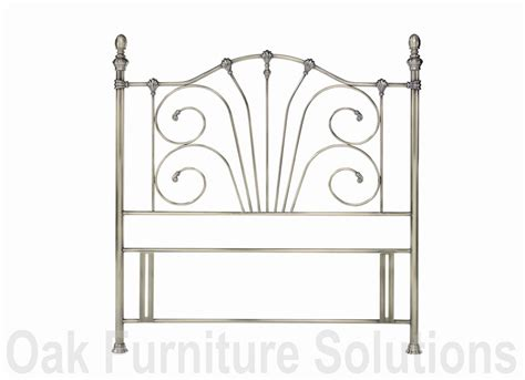 antique brass headboard rebecca antique brass headboard oak furniture solutions