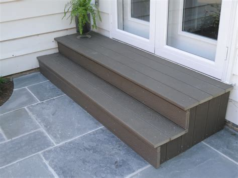 outdoor steps like this are a great do it yourself