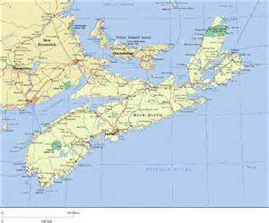 maps scotia canada novascotia map 点力图库