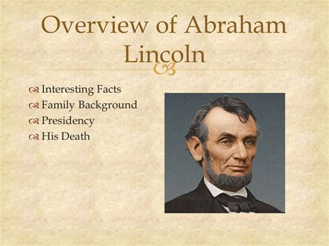 lincoln biography facts in the life of abraham lincoln ppt download