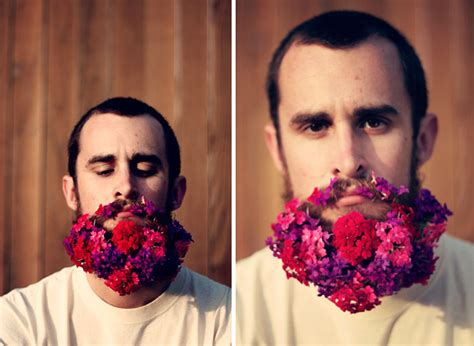 in pics men with flowers in their beards stuff co nz latest trend men with flowers in their beards bored panda