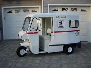 Wheels Mail Truck 3 Wheel Cushman Mail Truck Learn Me Westcoaster Mail