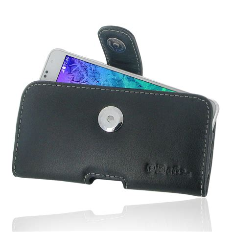 primary pouch samsung alpha brown samsung galaxy alpha leather holster belt clip