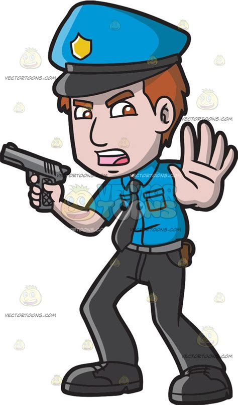 police officer  people    clipart
