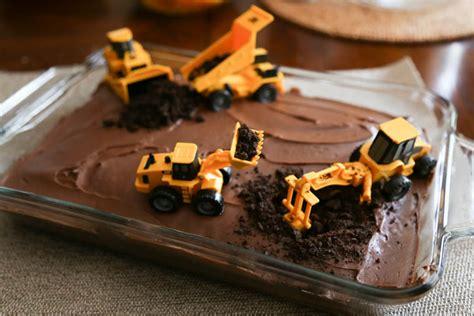 diy boys birthday cake construction party thriving home