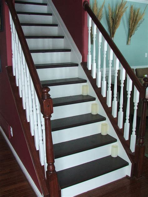Staircase Makeover Ideas Remodelaholic Top Ten Stair Makeovers And Link