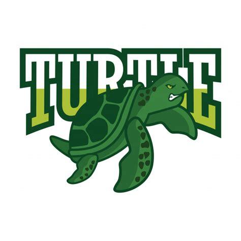green turtle logo vector premium