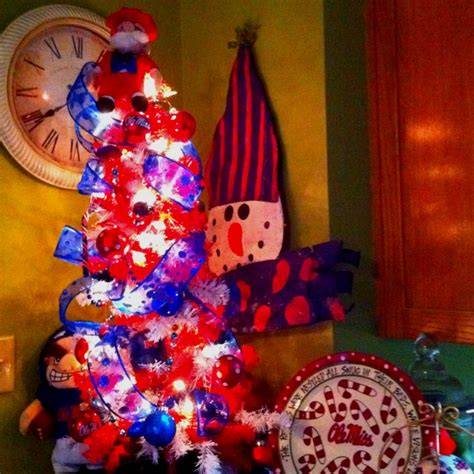 ole miss christmas holiday decorating pinterest