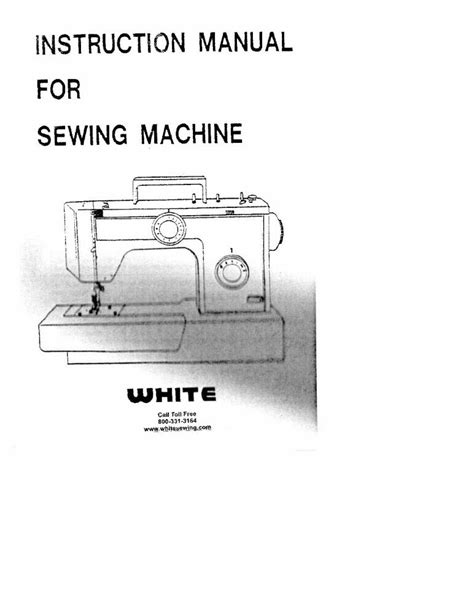 White W1788 W1888 Sewing Machine Embroidery Serger Owners