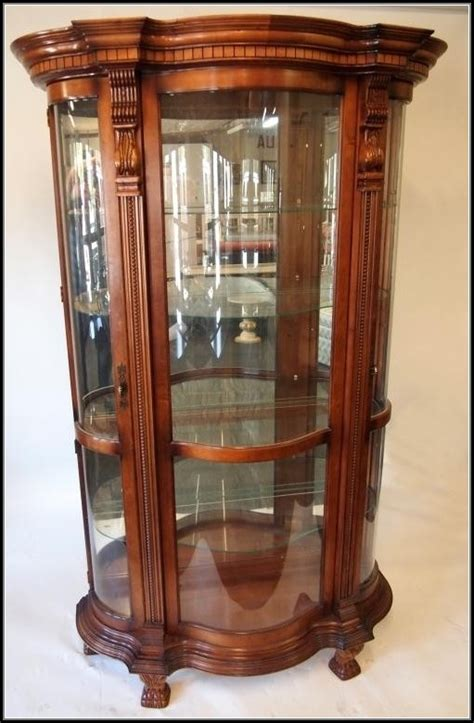replacement curved glass for curio cabinet curved glass curio cabinet oak cabinet home decorating