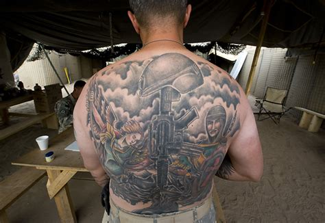 afghanistan tattoo designs assignment and soldier at back tattoos tattoomagz